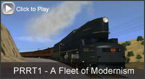 Click to view Video - The PRR T1 'A Fleet of Modernism' Add-on Pack